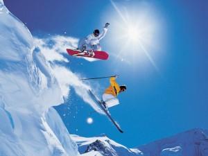 ski-board